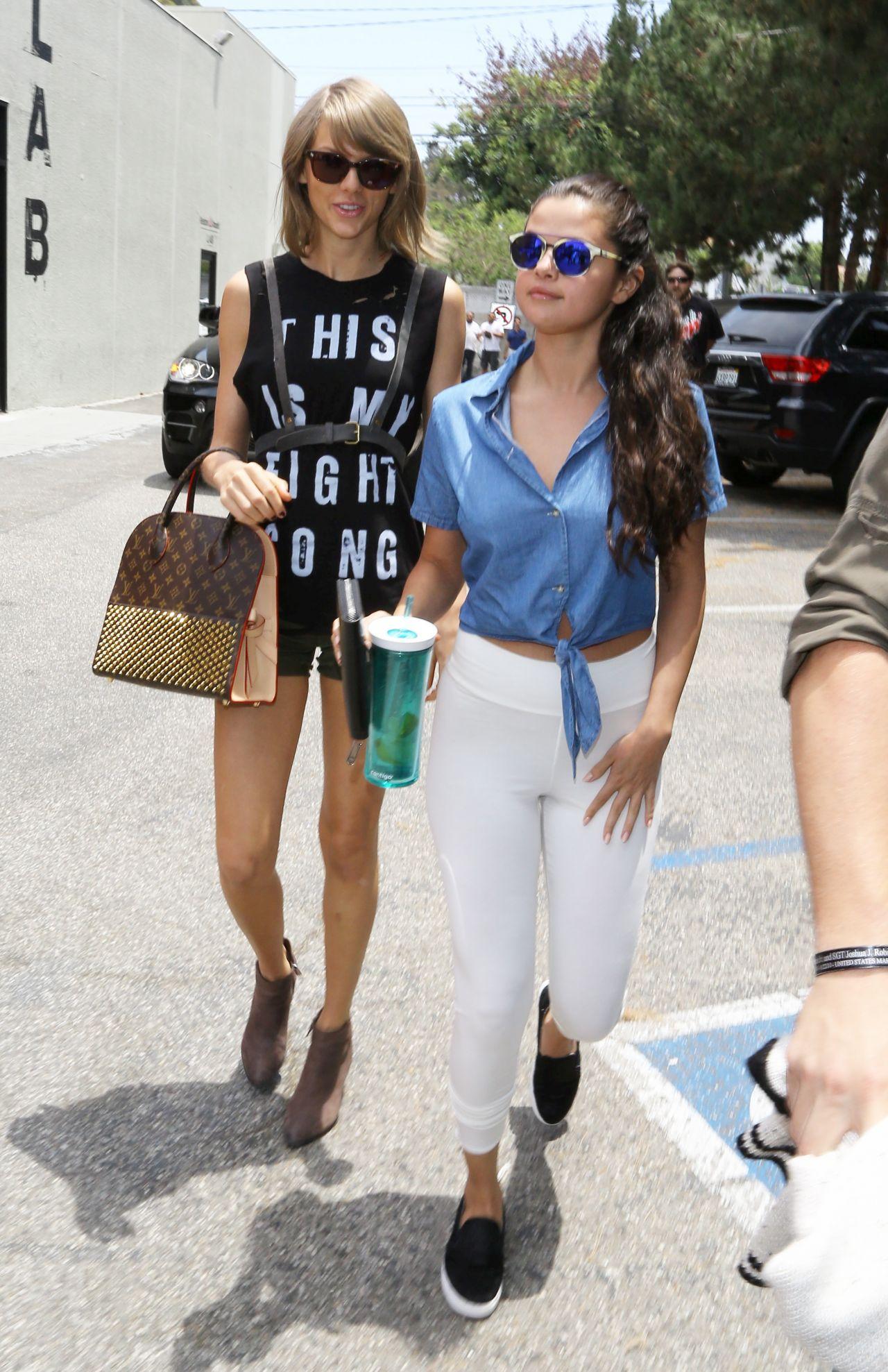2015 Los Angeles Film Festival: Taylor Swift And Selena Gomez
