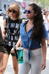 Taylor Swift and Selena Gomez - Los Angeles, June 2015