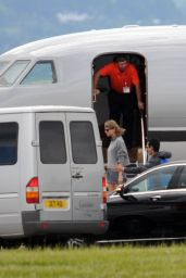 Taylor Swift - Glasgow Airport in Scotland, June 2015