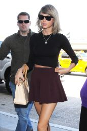 Taylor Swift Style - at LAX Airport - June 2015