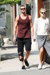 Toni Garrn With Her New Boyfriend - New York City, June 2015