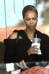 Tyra Banks - Out in Los Angeles, June 2015
