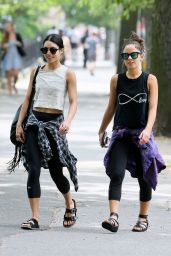 Vanessa Hudgens Going to a Yoga Class in NYC, June 2015