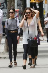Vanessa Hudgens in Tights - NYC, June 2015
