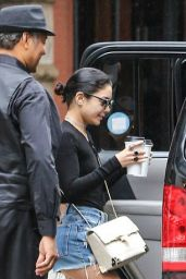 Vanessa Hudgens Leaving Her Apartment in New York City, June 2015
