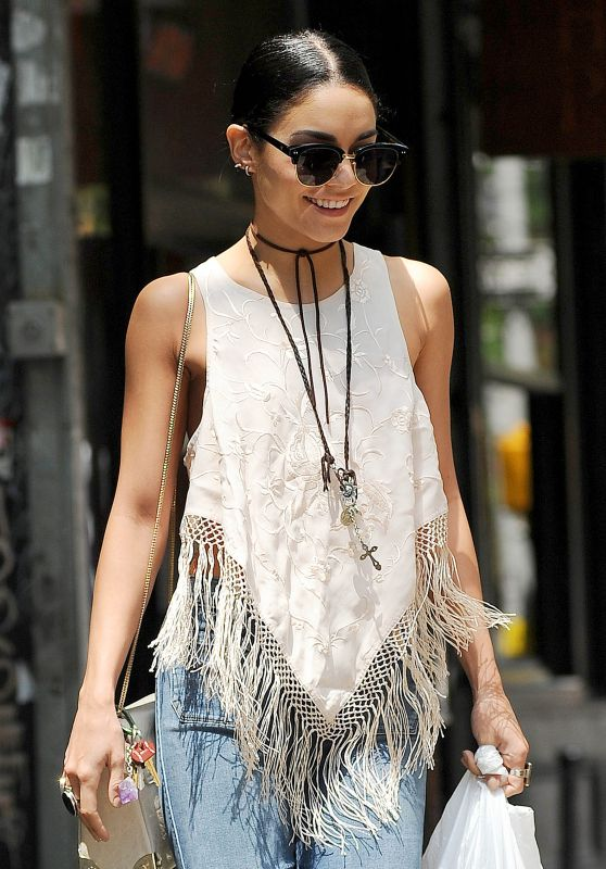 Vanessa Hudgens Out in Soho, New York City, June 2015