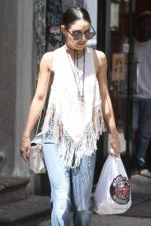 Vanessa Hudgens Out in Soho, New York City, June 2015