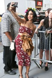 Vanessa Hudgens Outside Neil Simon Theatre in New York City, June 2015