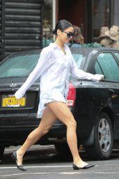 Vanessa Hudgens Street Outfit - NYC, June 2015