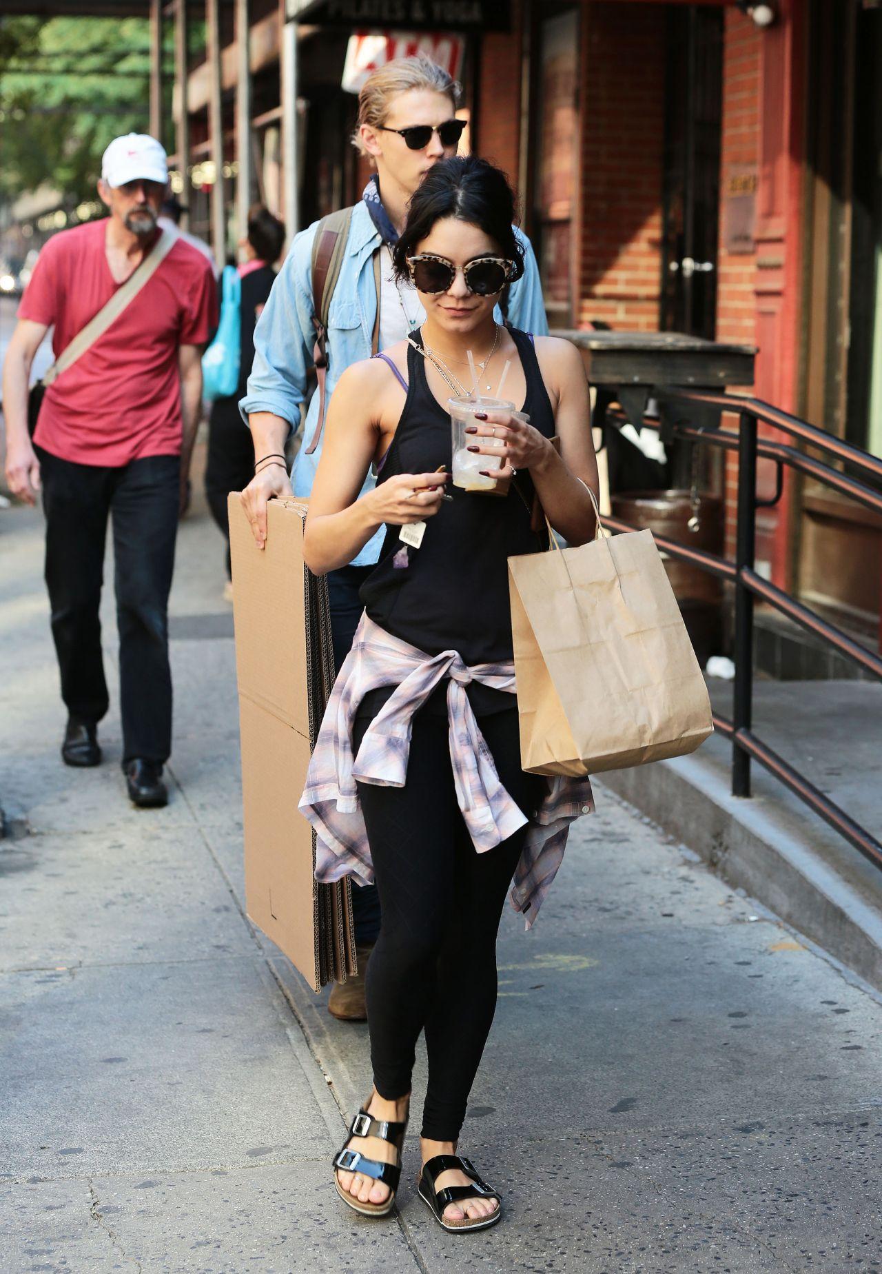 Vanessa Hudgens Street Style New York City June 2015