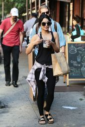 Vanessa Hudgens Street Style - New York City, June 2015