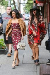 Vanessa Hudgens Style - Leaving Her Apartment in New York City, June 2015