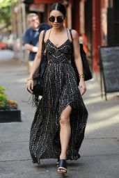 Vanessa Hudgens Style - Leaving Her Apartment in SoHo, June 2015
