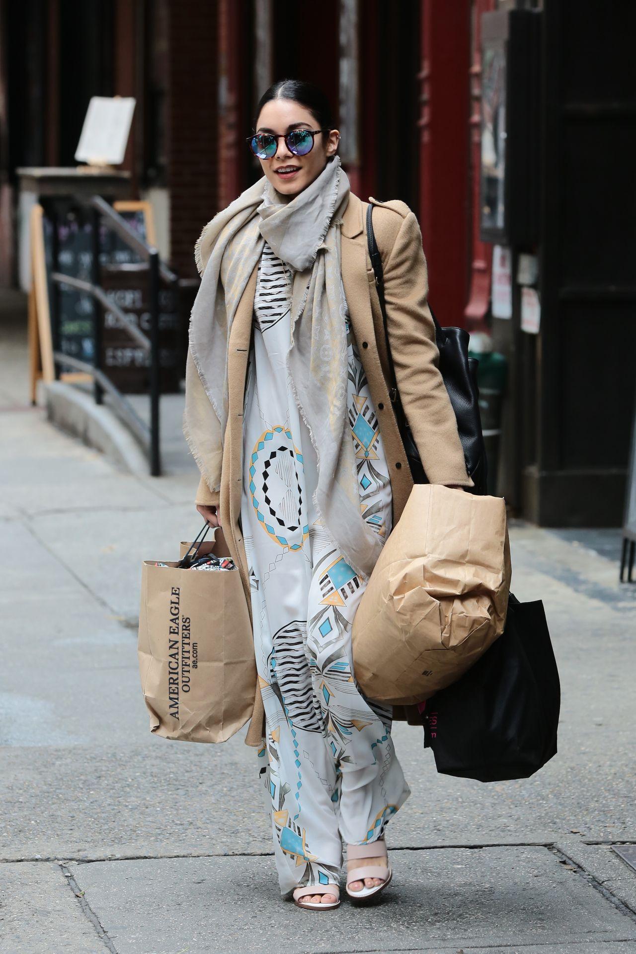 Vanessa Hudgens Style New York City June 2015