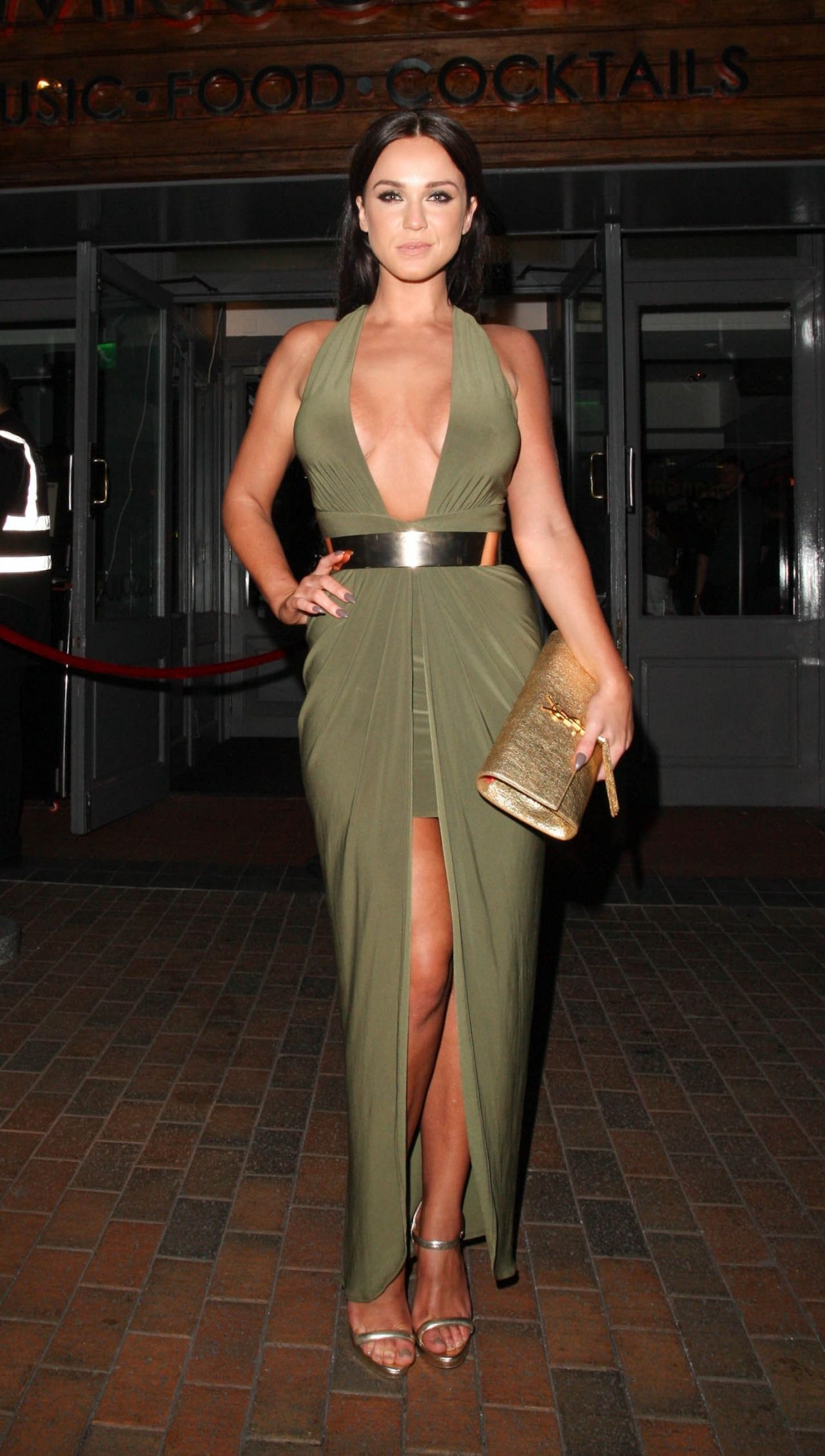 Vicky Pattison Night Out Style - Leaving The Missoula -7821