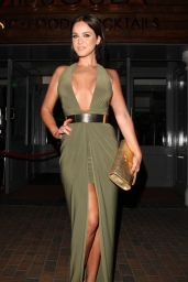 Vicky Pattison Night Out Style - Leaving the Missoula Nightclub in London, June 2015