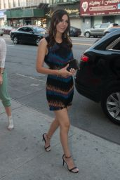 Victoria Justice - Arriving to DoSomething.org Spring Dinner, June 2015