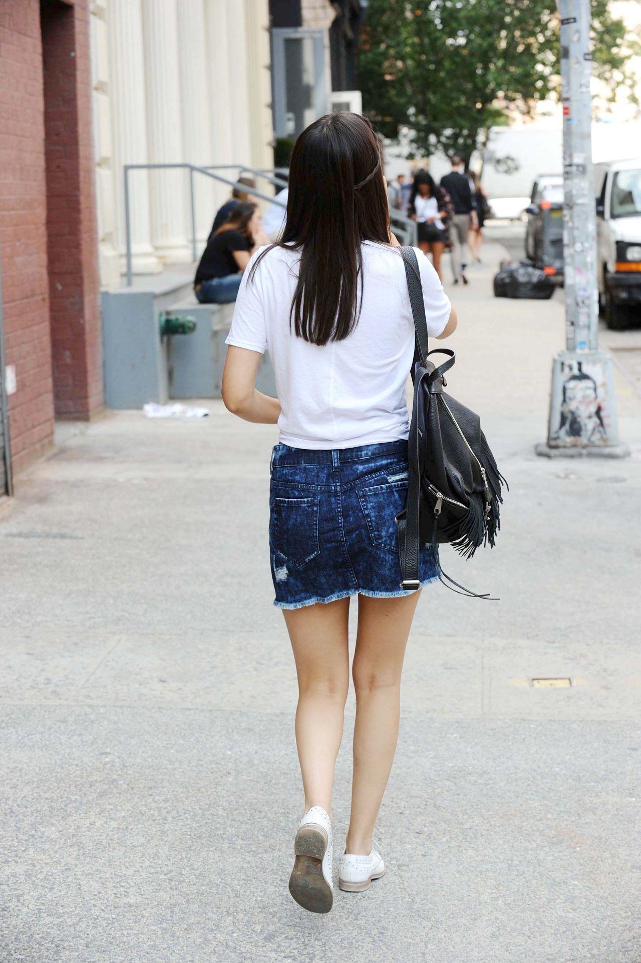 Surf En Turf >> Victoria Justice in Mini Skirt - NYC, June 2015