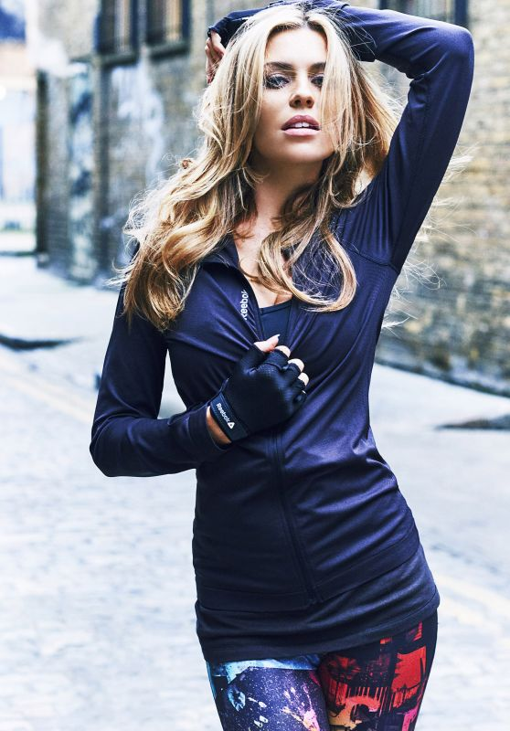 Abbey Clancy - Reebok Autumn Winter 2015