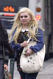 Abigail Breslin Street Style - Out and About in Soho, NY, July 2015