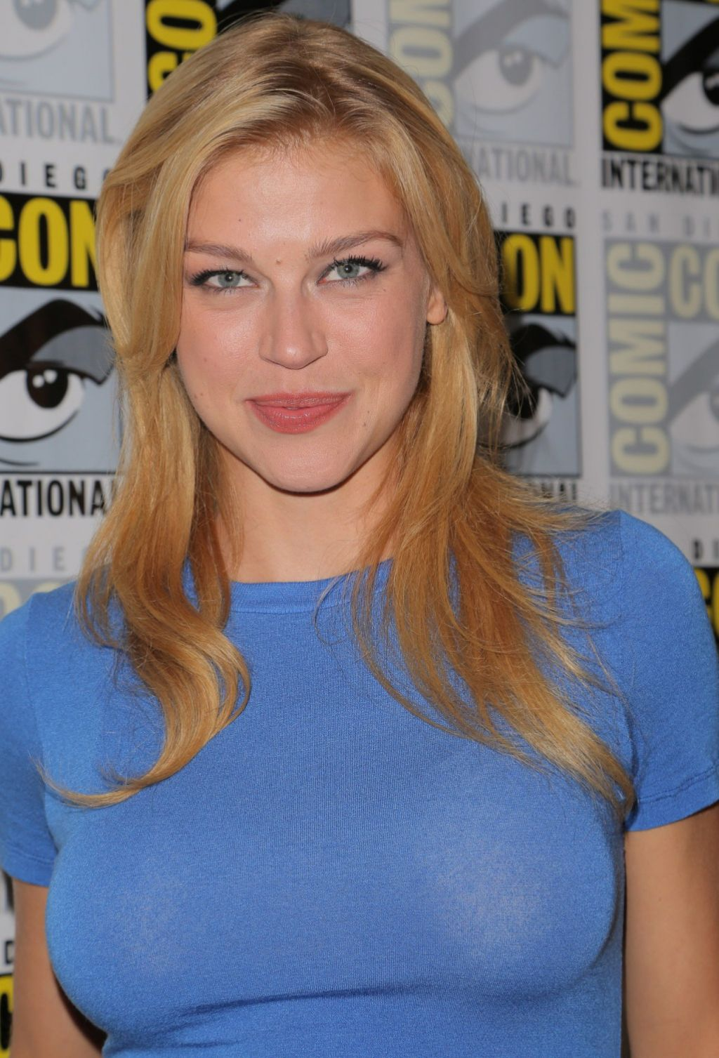 Adrianne Palicki - Agents of SHIELD Press Line at Comic ...