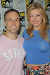 Adrianne Palicki - Agents of SHIELD Press Line at Comic Con in San Diego, July 2015