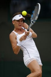 Agnieszka Radwanska – Wimbledon Tournament 2015 – Quarter Final