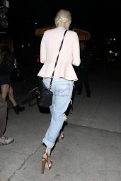 Alessandra Torresani in Ripped Jeans - Out in Hollywood, July 2015