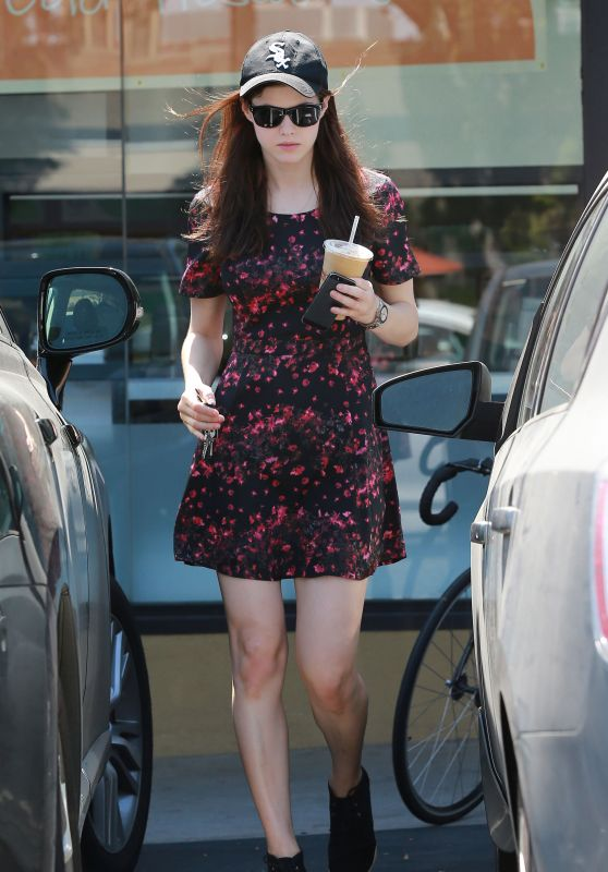 Alexandra Daddario - Out in West Hollywood, June 2015