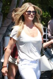 Ali Larter Casual Style - Leaving Fred Segal in West Hollywood, July 2015