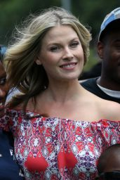 Ali Larter Hot Pics  - Hosting Popchips Crazy Hot Summer BBQ Event in New York City