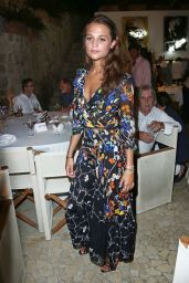 Alicia Vikander - 2015 Ischia Global Film & Music Festival