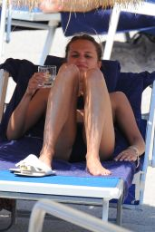 Alicia Vikander Bikini Pics - in Italy, July 2015