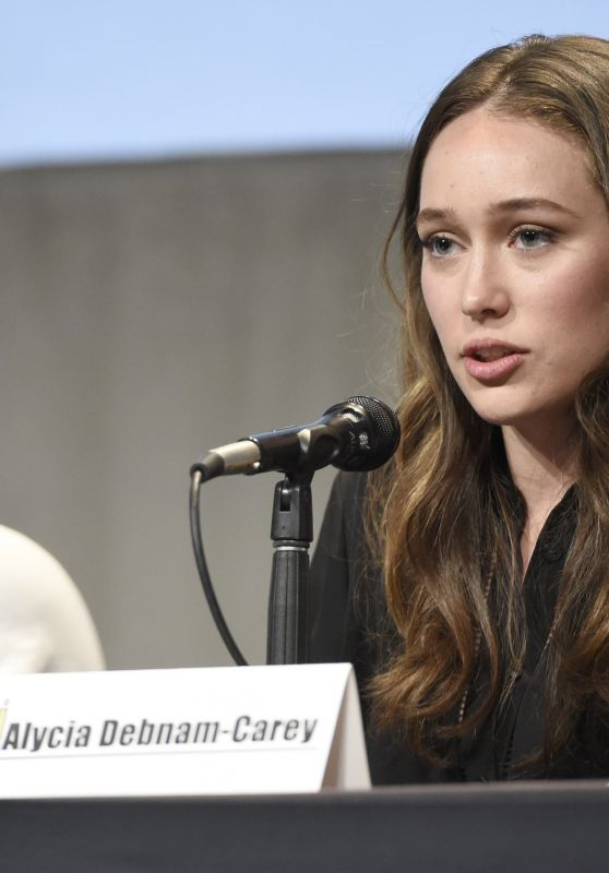 Alycia Debnam Carey - Fear The Walking Dead Panel at Comic-Con in San Diego