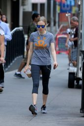 Amanda Seyfried - Going to the Gym in New York City, July 2015