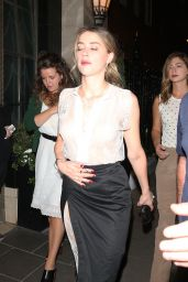 Amber Heard at the Claridge Hotel in London, June 2015