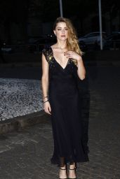 Amber Heard - Miu Miu Fragrance and Croisiere 2016 Collection Launch in Paris