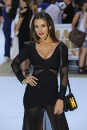 Amy Jackson - Magic Mike XXL Premiere in London