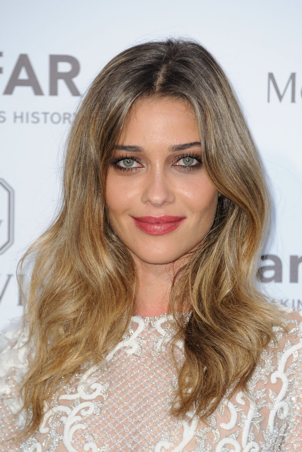 ana beatriz barros on red carpet amfar dinner in paris