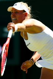 Angelique Kerber – Wimbledon Tournament 2015 – First Round