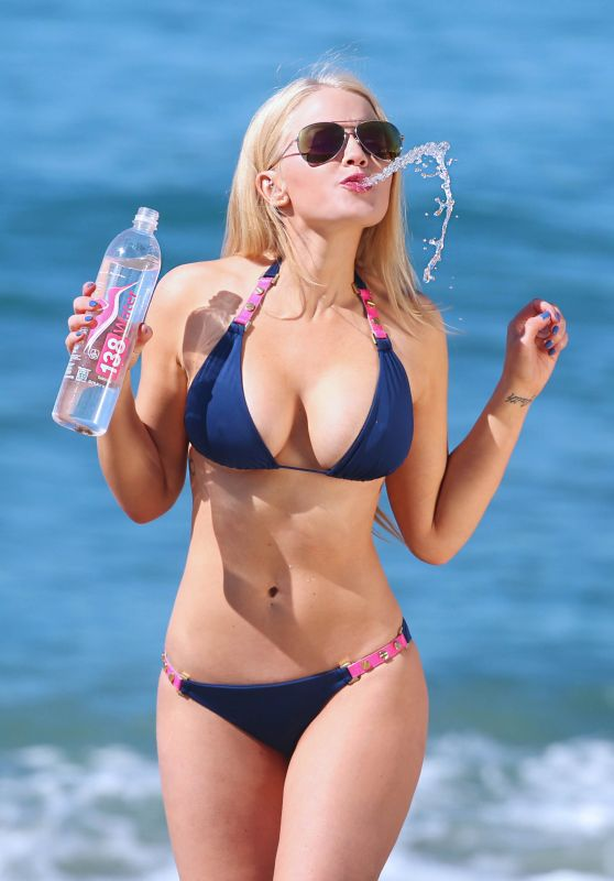Anna Sophia Berglund - Bikini Photoshoot for 138 Water in Malibu