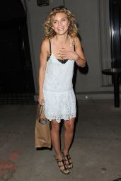 AnnaLynne McCord Summer Style - Out for Dinner in Los Angeles, July 2015