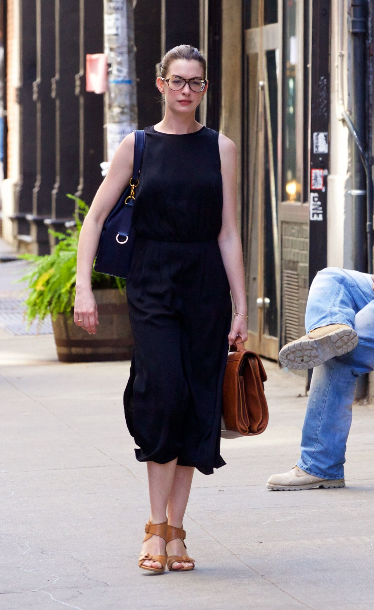 Anne Hathaway  InStylecom