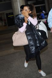 Ariana Grande at LAX Airport, July 2015