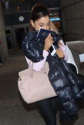 Ariana Grande at LAX Airport, July 2015