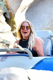 Ashley Benson at Disneyland - July 2015