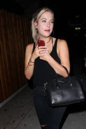 Ashley Benson at The Nice Guy in West Hollywood, July 2015