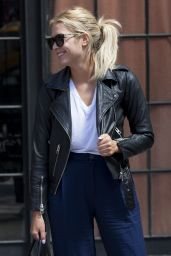 Ashley Benson Casual Style - Out in NYC, July 2015