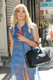 Ashley Benson Summer Style - Out in Soho, New York City, July 2015