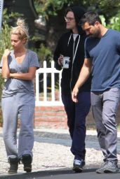 Ashley Tisdale - Out in Encino, July 2015